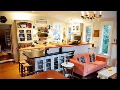 Cucina soggiorno open space youtube for Cucina open space con pilastri