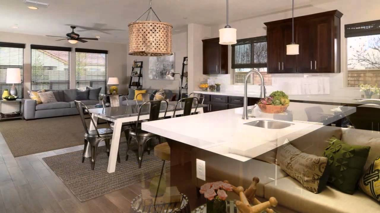 Cucina soggiorno open space - YouTube