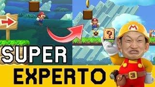 PILLO AL COMIENZO, PILLO POR SIEMPRE!! 😡 - SUPER EXPERTO NO SKIP | Super Mario Maker - ZetaSSJ
