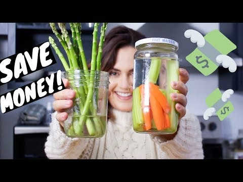 How to make groceries last longer! FOOD STORAGE TIPS