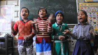 A funny poem recitation by Class 3 students of Gyanshala model