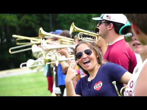 Elbert County High School Band Hype Video