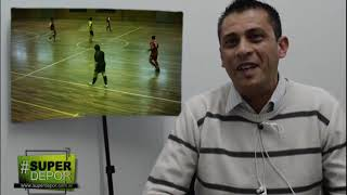 Alejandro Cortez arbitrará el Sudamericano de Futsal en Comodoro