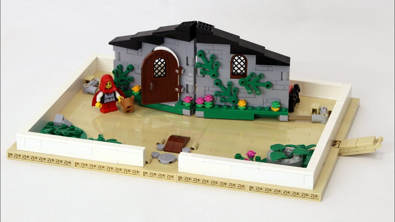 LEGO Pop-Up Book Ideas Project - YouTube