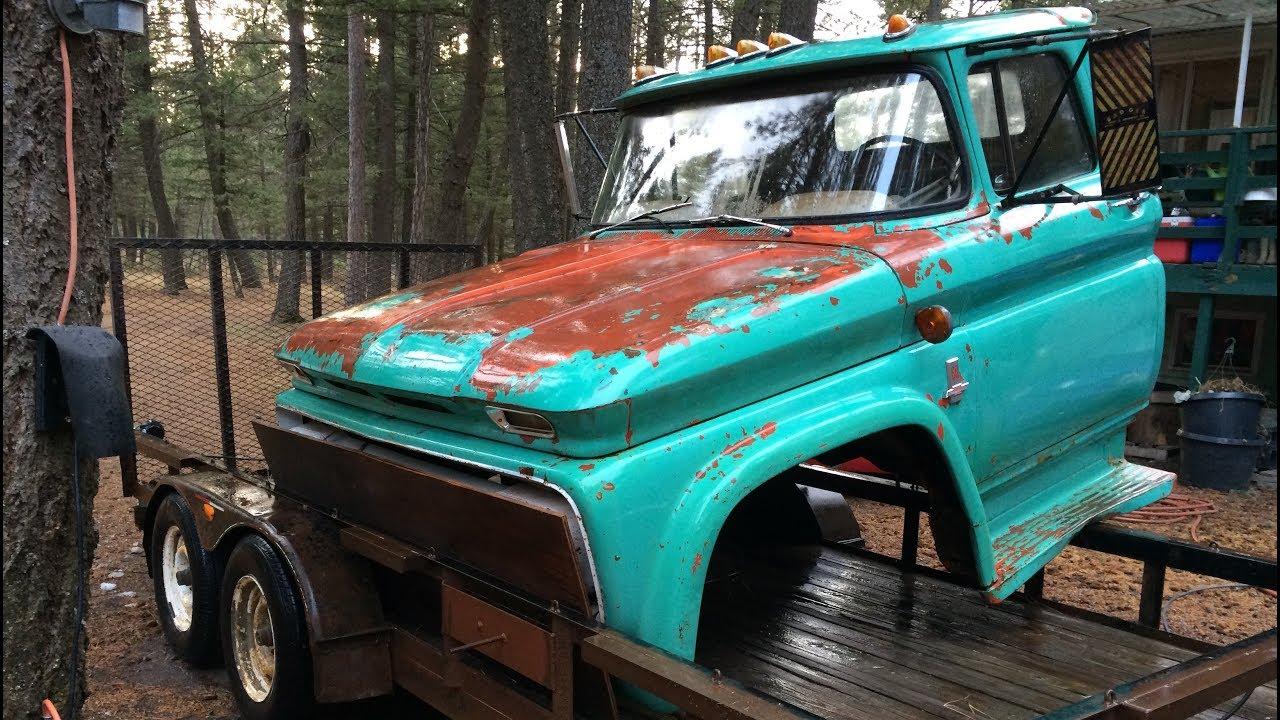 1963 Chevy C60 Truck Cab Update Youtube 1961 Crew