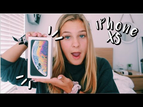 iPHONE XS UNBOXING!!