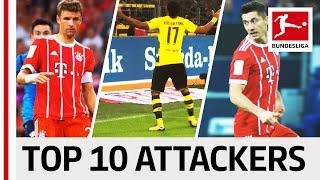 EA SPORTS FIFA 18 - Top 10 Attackers: Aubameyang, Lewandowski & More