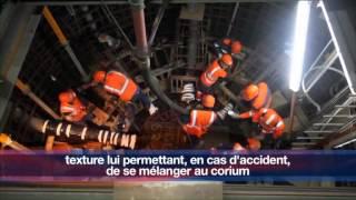 EPR de Flamanville : le récupérateur de corium, une amélioration à la sûreté de conception