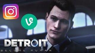 Detroit: Become Human // Vine/Instagram Edits