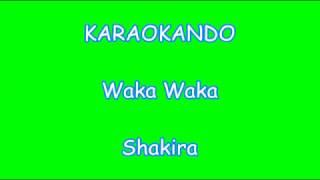 Karaoke Internazionale - Waka Waka - Shakira ( Lyrics )