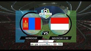 Mongolia vs Timnas Indonesia U 22   PES 2017