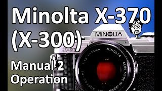 Мінолта Х-370 (Х-300) Керівництво По Експлуатації Відео 2: Операція