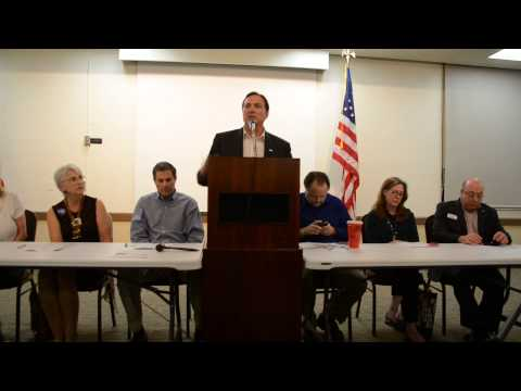 William Rankin Candidate for Florida CFO Speaks at the Broward County Democratic Club