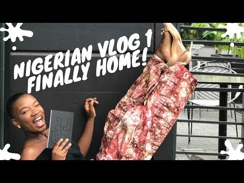 I Just Got Back | That Odd Girl Visits Nigeria VLOG 1 #DETTYDECEMBER