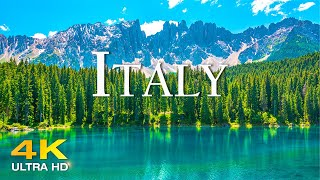 Italy 4K  Amazing Beautiful Nature Scenery with Relaxing Music for Stress Relief 4K Video Ultra HD