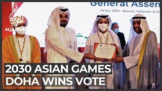 Doha to host 2030 Asian Games: Qatar's capital beat Riyadh in vote