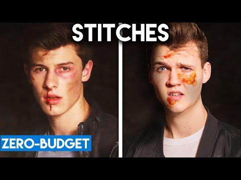 SHAWN MENDES WITH ZERO BUDGET! (Stitches PARODY)