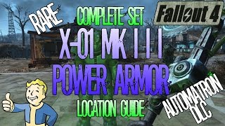 Fallout 4 | Rare X-01 Mk III Power Armor | Location Guide | Automatron DLC | Tutorial