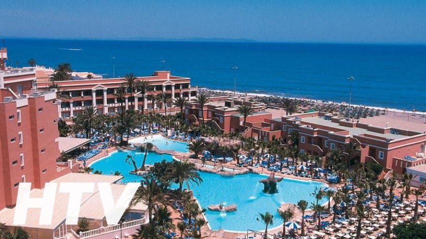 Playacapricho Hotel En Roquetas De Mar Youtube