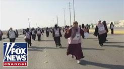Saudi Arabia holds first-ever running race for women