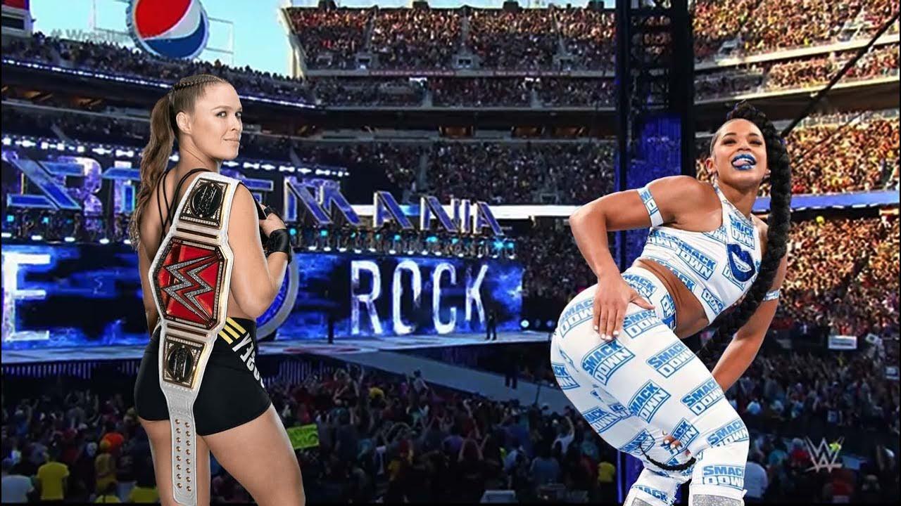 Ronda Rousey vs Bianca Belair : women's Full Match