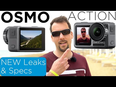 DJI Osmo Action - New Leaks & Infos DJI's Action Cam [4K]