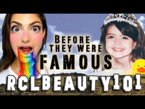 RCLBeauty101 - Before They Were Famous - Rachel Levin