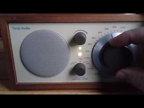 Another look at the Tivoli Model One Radio.
