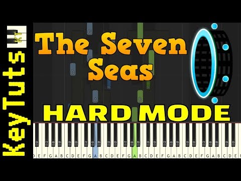 Learn To Play Seven Seas From Geometry Dash - Hard Mode