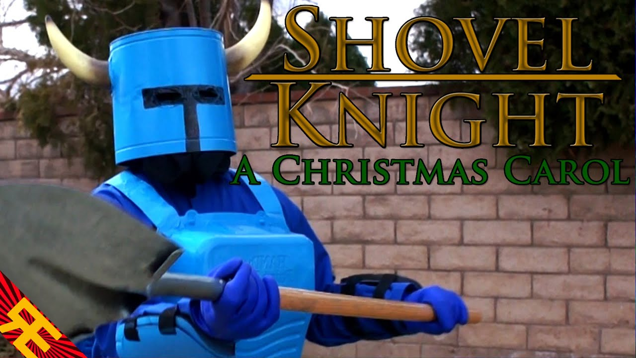 SHOVEL KNIGHT, HOLEY KNIGHT: A Christmas Carol (Video Game Parody ...