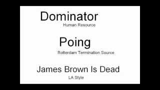 dominator poing james brown is dead remix