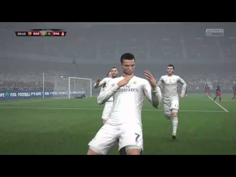 FIFA16:BAR vs RMA  Ps4