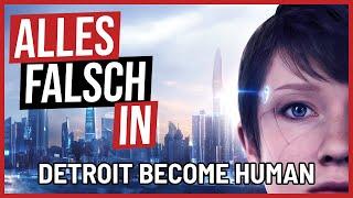 Alles falsch in DETROIT: Become Human 🛎️ GameSünden [Satire]