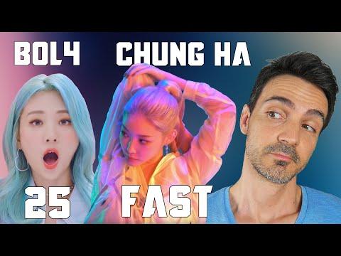 "CHUNG HA ""Fast"" + BO ""25"" MV |Réaction FR"
