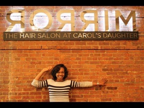 My Ceramic Fusion Experience at Mirror, The Hair Salon at Carol's Daughter