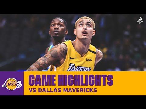 HIGHLIGHTS | Kyle Kuzma (26 pts, 6 reb, 2 ast.) at Dallas Mavericks