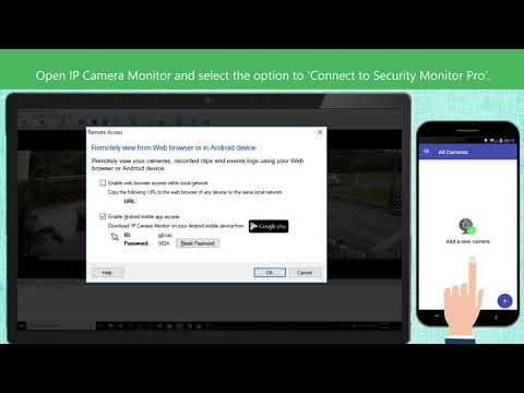 Remotely Access And Control Your IP Cameras From Anywhere.
