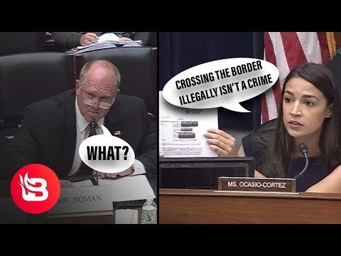 Former ICE Director Explains to AOC that Crossing the Border Illegally is…Illegal