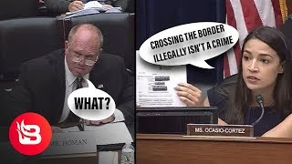Former ICE Director Explains to AOC that Crossing the Border Illegally is...Illegal