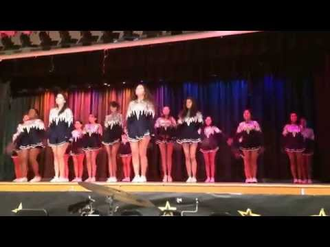 Olive Vista Middle School Drill Team 2014