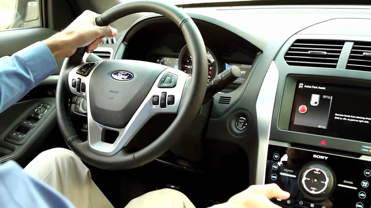 2011 Ford Explorer Parallel Parks Itself! (Active Park Assist) - YouTube & 2011 Ford Explorer Parallel Parks Itself! (Active Park Assist ... markmcfarlin.com