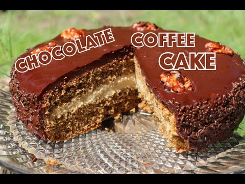 Gateau au cafe et chocolat / كيك بالشوكولا والقهوة chocolate coffee cake