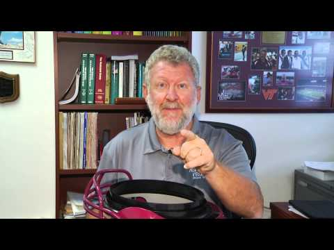 Director of the Marching Virginians, David McKee, makes a $10,000 ALS Ice Bucket Challenge