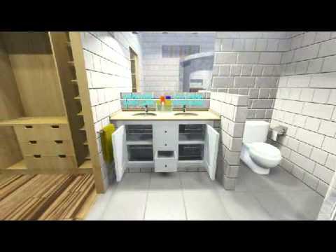 Mueble bajo lavabo carpinteria santa clara youtube - Mueble bajo lavabo ...
