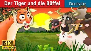 Der Tiger und die Büffel   Gute Nacht Geschichte   Märchen   Geschichte   Deutsche Märchen