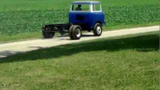 1958 jeep fc170 drw first drive