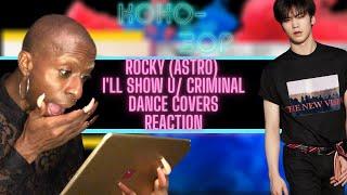 EX-BALLET DANCER BLOWN AWAY  ROCKY (ASTRO) 'I'LL SHOW YOU YOU' & 'CRIMINAL' Dancer Covers
