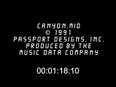 CANYON.mid music remake