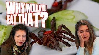8 Legs and Tastes Like Chicken aka Tarantulas - Why Would You Eat That?