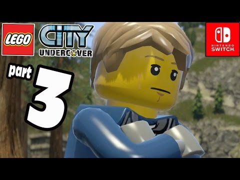 LEGO City Undercover COOP Part 3 Parkour Rooftop Action (Nintendo Switch) Gameplay